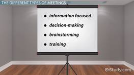 Types of Meetings, Conventions, Expositions & Special Events