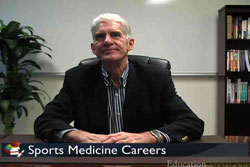 Video for Sports Medicine Degree Programs with Course Information