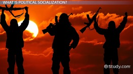 What is Political Socialization? - Definition, Factors, Process & Examples