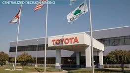 Business Case Study: Toyota's Organizational Structure