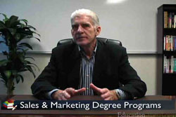 Video for Career Information for a Degree in Merchandising Marketing, Sales and Distribution