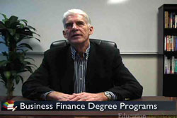 Video for Business Finance Degree Program Overviews by Degree Level