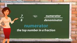 Finding a Missing Numerator or Denominator in Addition & Subtraction Sentences