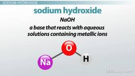 Reactions of Acids: Metals, Carbonates & Hydroxides - Video & Lesson