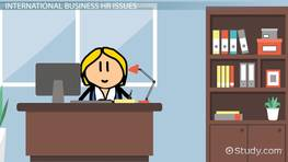 Human Resource Issues in International Business