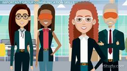 Skills & Activities for Effective Group Communication