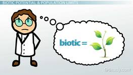 What Is Biotic Potential? - Definition & Examples