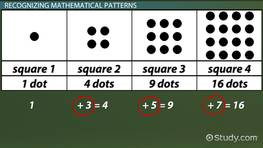 Recognizing and Solving Mathematical Patterns