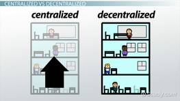 centralisation and decentralisation examples