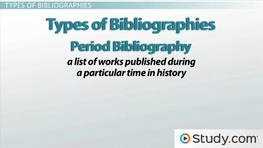 What Is a Bibliography and When Should I Write One?