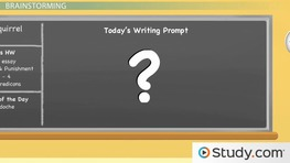 Effective Prewriting: Instructions and Examples