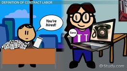Contract Labor: Definition & Laws