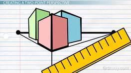 Two-Point Perspective Drawing: Definition & Examples