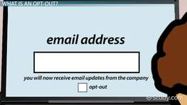 Opt-Out Procedures for Email Marketing
