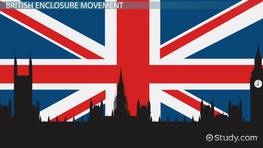 The British Enclosure Movement: Definition & Overview