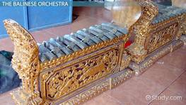 Gamelan: Definition, Instruments & Music
