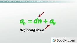 How to Find and Classify an Arithmetic Sequence