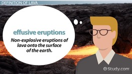 Lava Flow: Definition & Types