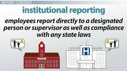 Mandated Reporting: Definition & Laws