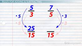 Adding & Subtracting Improper Fractions
