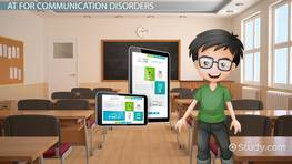 Assistive Technology for Communication Disorders