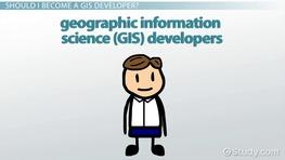 be a gis developer job description and requirements