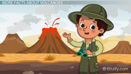 Volcanoes Lesson for Kids: Facts & Types