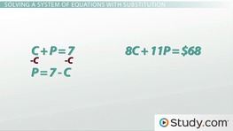 How Do I Use a System of Equations?