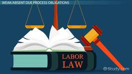 Employee Rights: Job Security, Unions & Due Process