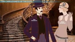 Lies In The Great Gatsby Video Lesson Transcript Studycom