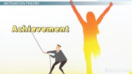 Achievement Motivation: Theory & Definition