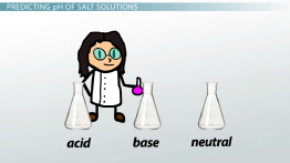 Acidic & Basic Salt Solutions: Explanation & Examples