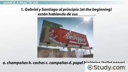Spanish Vocabulary: Advertising Terms