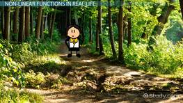 Using Nonlinear Functions in Real Life Situations
