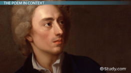 on his blindness summary theme analysis video lesson  alexander pope s an essay on man summary analysis