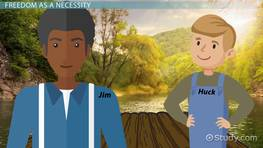 Freedom in The Adventures of Huckleberry Finn: Examples & Quotes