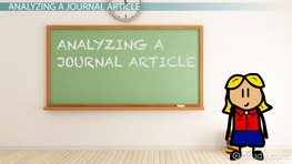 Practice Analyzing and Interpreting a Journal
