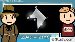 Angle Bisector Theorem: Proof and Example