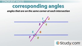 Angles Formed by a Transversal