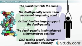 Arguments For and Against Capital Punishment