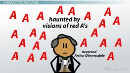 Arthur Dimmesdale in the Scarlet Letter: Character Analysis & Overview
