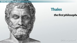 Thales the Philosopher: Theory & Contributions to Philosophy