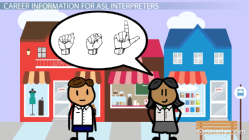 Is there any internships out there for American Sign Language interpreting?