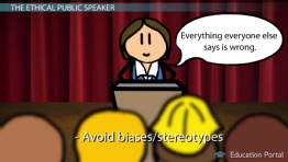 Being an Ethical Speaker: Guidelines & Issues