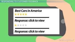 Responding to Customer Feedback: Steps & Examples