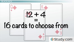Blackjack: Finding Expected Values of Games of Chance with Cards