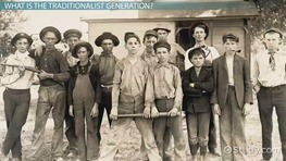 Traditionalist Generation: Definition & Characteristics
