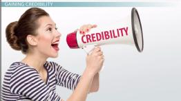 Building Credibility to Persuade Your Audience in Public Speaking