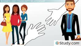 Business & the Community: Partnerships & Interactions