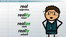 English Spelling Rules for Suffixes & Endings